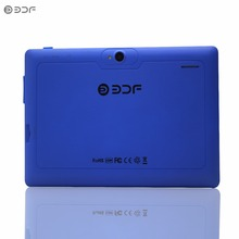 New Quad core  7 inch cheap Tablets pc wifi edition 512MB 8GB Dual camera Nice design Suitable for gifts 1024*600 7 8 9 10