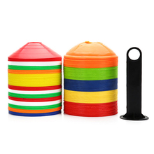 30 PCS/LOT Hot Soccer Football Training Cones Marker Discs Sports Safety DISC CONE Mixed Colors