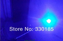Wholesale - high power burning blue laser pointers 5000mw/5W 450nm burn match/dry wood/cigarettes+5 caps+glasses+charger+box
