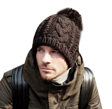 FIRST MARKET hat winter,men winter hat/ knitted hat, women winter hat, free shipping(China)