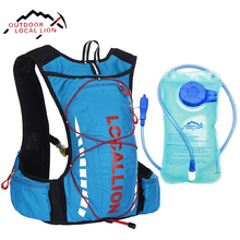 LOCAL LION Cycling Backpack Hydration With 1L Water Bladder Bag Riding Running Bicycle Backpacks Waterproof Cycling Backpack 8L