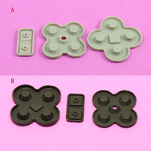 2 colors rubber silicone conducting conductive conductor button for NDS/DSL/Nintendo/NDSL game console repair replacement(China)