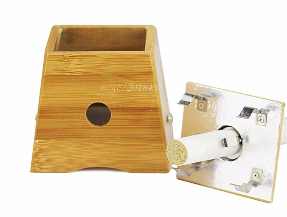 5 Pcs Monocular Moxibustion Box Bamboo Moxibustion Pot Moxa Burner Acupuncture Chinese Traditional Massage Device <br>
