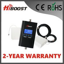 Hiboost Newest LCD  2G 3G 4G 13dBm Dual Band DCS1800 and WCDMA2100 Telecom Mobile Signal Booster Hi13-DW