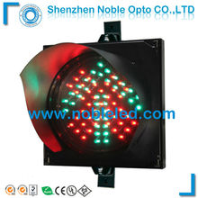 200mm driverway led  vehicle traffic arrow sign light