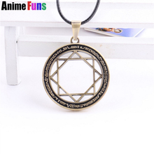 Anime Magi Choker Necklace The Labyrinth Of Magic Flute MAGI Eight Star Array Circle Symble Charm Cosplay Jewelry drop-shipping