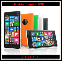 Nokia Lumia 830 Original Unlocked Windows Mobile Phone 8.1 GSM 3G&4G Quad-core 5.0'' 10MP WIFI GPS 16GB internal Storage