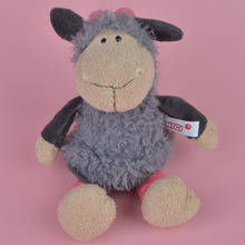 Grey Color Cherry Sheep Cute Baby/ Kids Gift, Lamb Plush Doll Free Shipping
