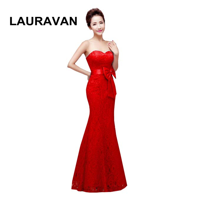 ladies occasion woman modest red blue black strapless evening dress pageant mermaid gown long formal dresses elegant 2019