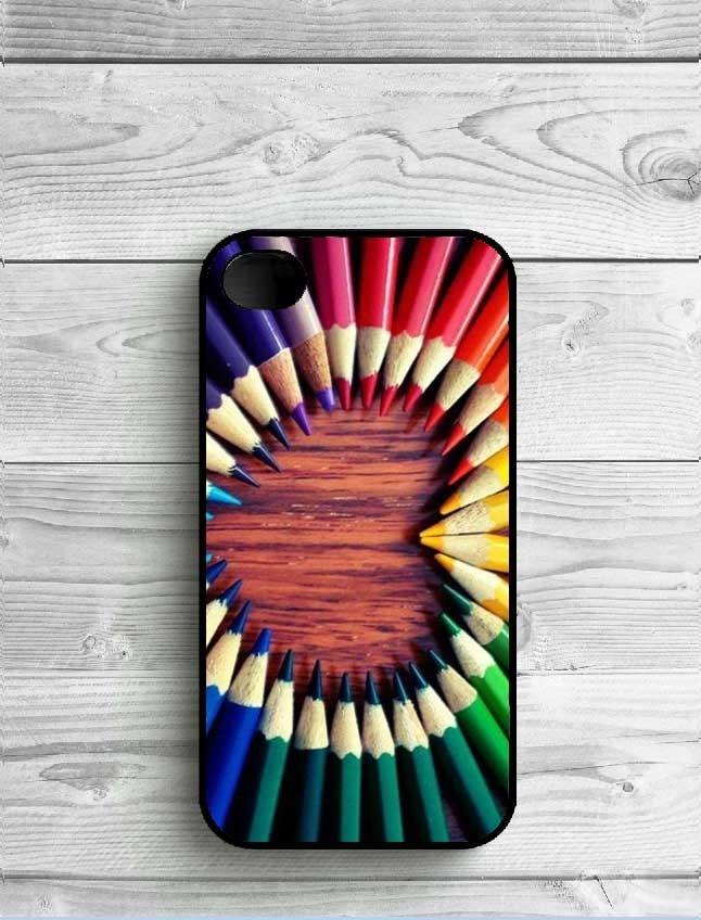 Wooden Style Mandala Plastic Phone Case For iPhone