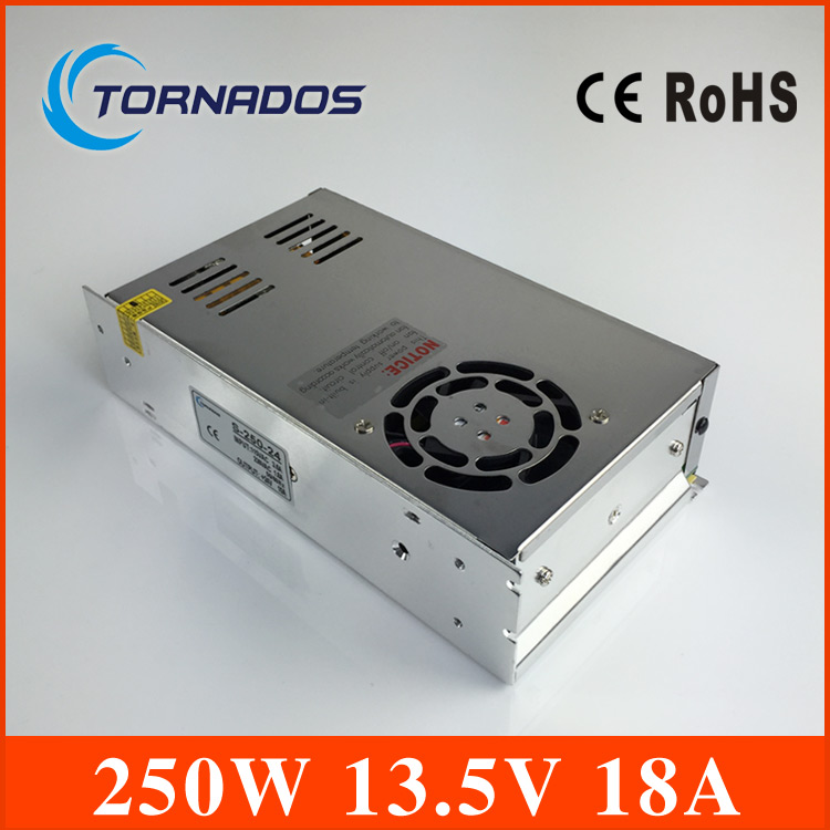Single Output Switching power supply power suply unit 240W 13.5V 18A ac to dc power supply ac dc converter S-250-13.5<br>