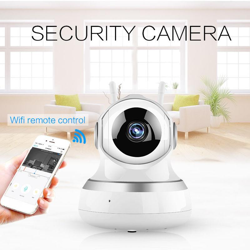 giantree HD 360 degrees IP Camera Durable Dual Antenna Baby Monitor Network Surveillance Camera Infrared night vision Camera<br>