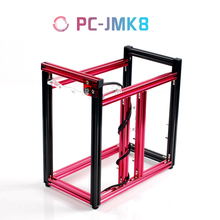 QDIY PC-JMK8 New Product ATX Aluminum Building Blocks of DIY Vertical Water-cooled Games Computer Chassis or Cases