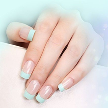 240pcs Newest 100% Brand French Manicure Strip Nail Art Form Fringe Guides Water Transfer Sticker DIY Line Tips White Nail Decal(China)