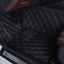 wholy surrounded car floor mats for Lincoln MKX special xpe leather rugs no odor environmental protection five seats