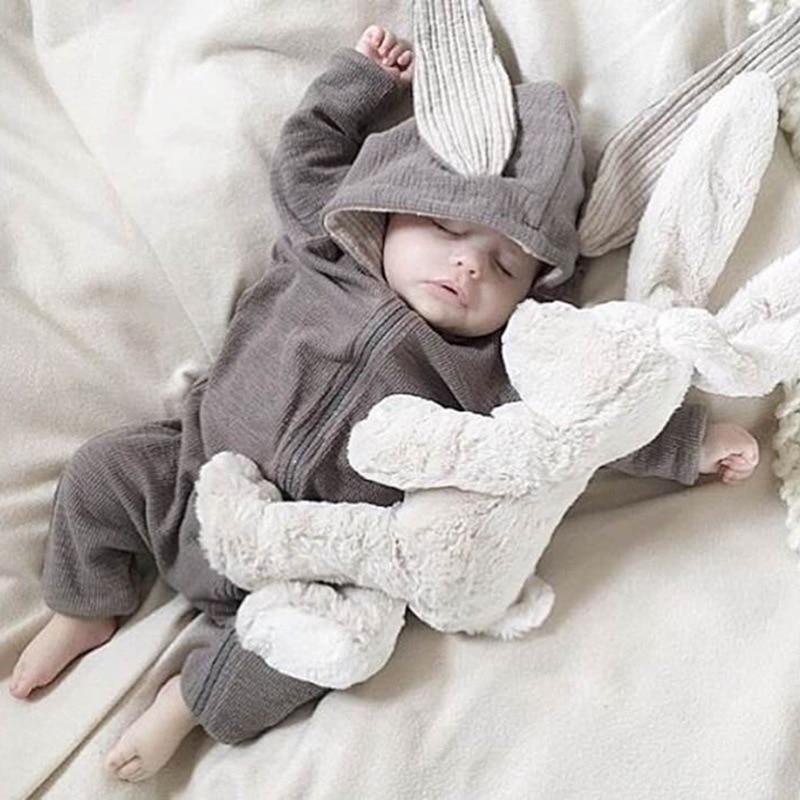 Children Wear Winter Climb Clothes Rabbit baby rompers onesie kids Infant bodysuit newborn christmas sweater kerst bedding set<br>