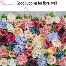 15PCS 10cm DIY Artificial Peony Flower Head Multicolor Road lead Wedding Flower Bouquet Hotel Background Wall Decor Crafts Flori(China)