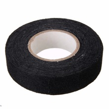 1pc Wiring Harness Tape Strong Adhesive Cloth Fabric Tape For Looms Cars 19mm x 15M(China)