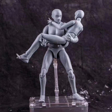 Gray Deluxe Edition Movable body Male Female joint Action Figure Toys painting Anime model doll Mannequin Art Sketch Draw Human