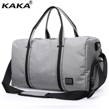 KAKA Large-capacity Men's Travel Bags Business High-quality Luggage Bags Duffel Bags Travel Tote Oxford Large Weekend Bag X108