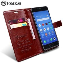 Meizu M5S Case Cover Original TOMKAS PU Leather Wallet Flip Phone Bag Cover Case For Meizu M5s Mini M 5S With Kickstand(China)