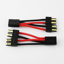 TRAXXAS 1 to 2 Adapter Plug Connector Parallel Cable leads Extension for RC Car Lipo Battery