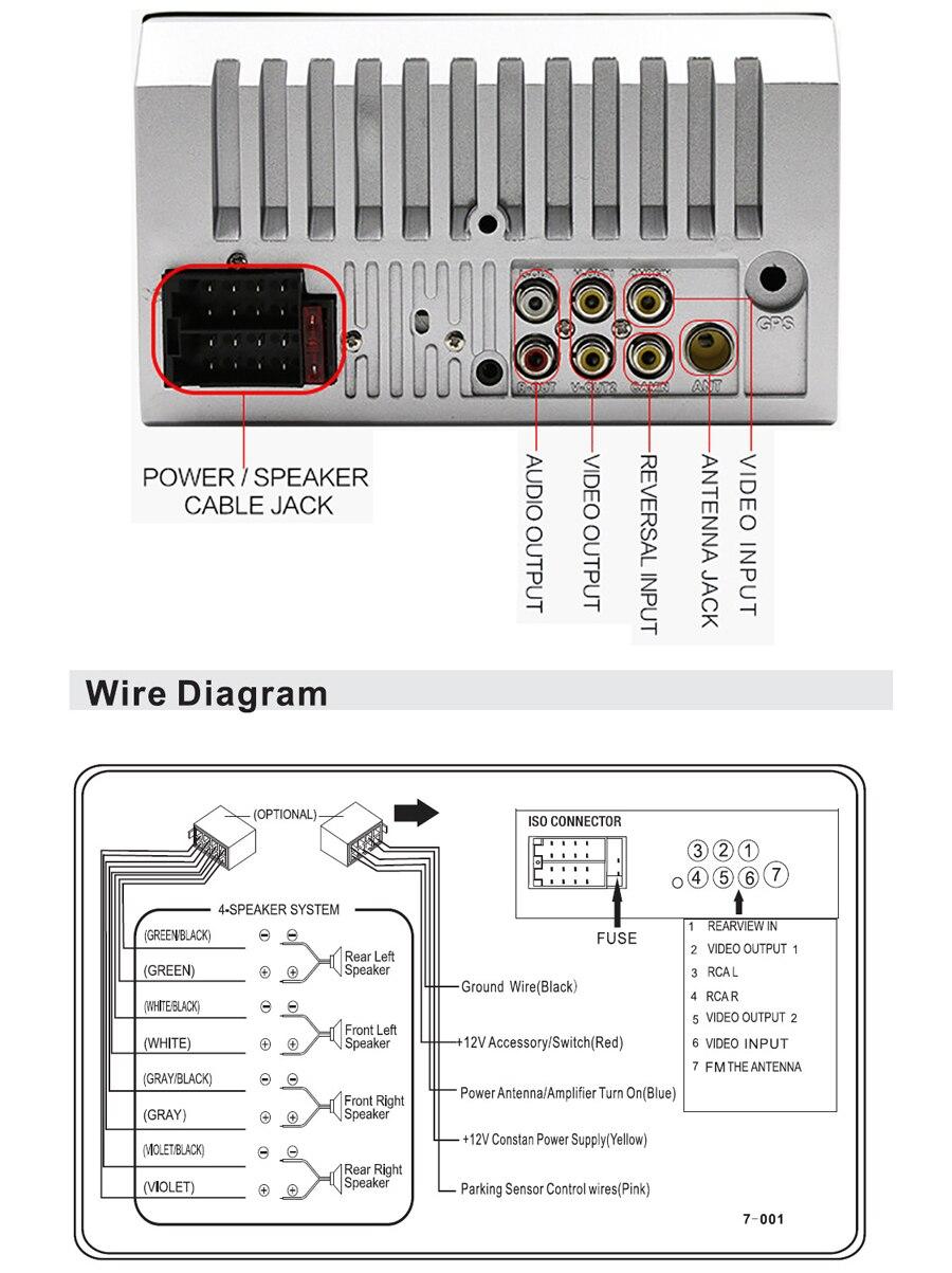Topsource Car Radio 7018b Autoradio 2 Din 7 Hd Touch Screen Audio Stereo Bluetooth Video Mp5 Multimedia Player Tf Usb Fm Radio Car Radios Aliexpress