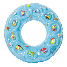 Rubber Ring Crystal Inflatabl Lap Swimming Double Thick Lifebuoy For Swimming Pool General Swimming Equipment Cartoon Pattern(China)