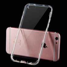 Buy LOVECOM Drop Resistant Clear Soft TPU Phone Cases iPhone 7 Case 7 Plus Anti Knock Transparent Gasbag Cover for $1.24 in AliExpress store