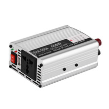 2017 New Car Inverter Vehicle Voltage Inversor DC12V To AC220V Power Inverter Adapter 300/400/500/600 Drop Shipping(China)