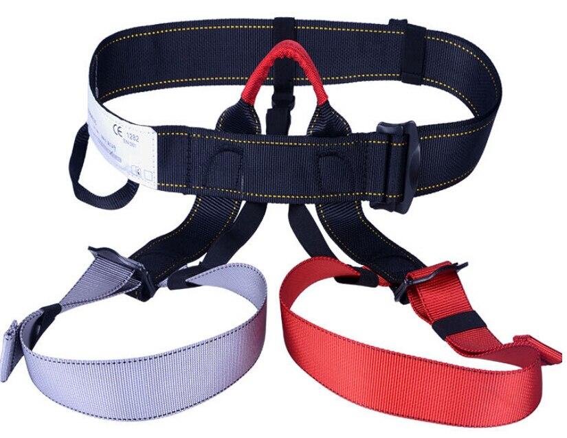 Outdoor climbing safety belts safety equipment harness climbing belt waist safety fashion solid belt 500KG high quality GM1413<br><br>Aliexpress