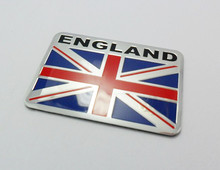 Classic Union Jack Flag Car Rear Boot Trunk Badge Sticker for Golf Polo Jetta