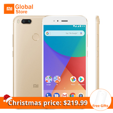 "Global Version Xiaomi Mi A1 MiA1 4GB RAM 64GB ROM Mobile Phone Snapdragon 625 Octa Core 5.5"" Dual 12.0MP Android One FDD LTE 4G(China)"