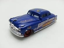 Pixar Cars Fabulous Hudson Hornet Metal Diecast Toy Car 1:55 Loose Brand New In Stock & Free Shipping
