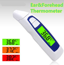 Non-contact Digital Infrared Thermometer Baby Adult Body Fever Temperature Monitor Ear&Forehead Professional Diagnostic-tool 40%
