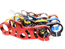 FXCNC CNC Aluminum Motorcycle Lowering Triple Tree Front End Upper Top Clamp 7 Colors For Suzuki GSXR 1000 2007 2008