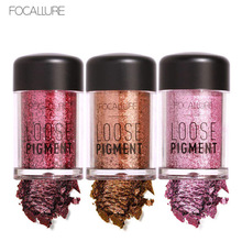 Focallure Eyeshadow Eye shadow in Shimmer Metallic Eyes Makeup Cosmetics Tools Pigment Powder high quality 12 Colors