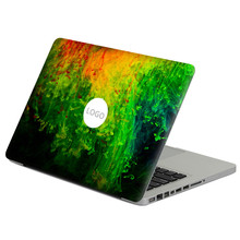 "Green watercolor  Laptop Decal Sticker Skin For MacBook Air Pro Retina 11"" 13"" 15"" Vinyl Mac Case Notebook Body Full Cover Skin"