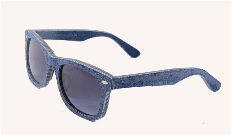 2015 Free Shipping New Arrival Denim Sunglasses women men sport sunglasses100% Genuine Handmade unisex Oculos De Sol  5701<br><br>Aliexpress