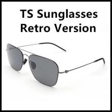 17314ef999361 2018 Xiaomi TS Steinhardt Turok Polorized Óculos De Sol Retro Versão 18g  Lentes de Nylon 100