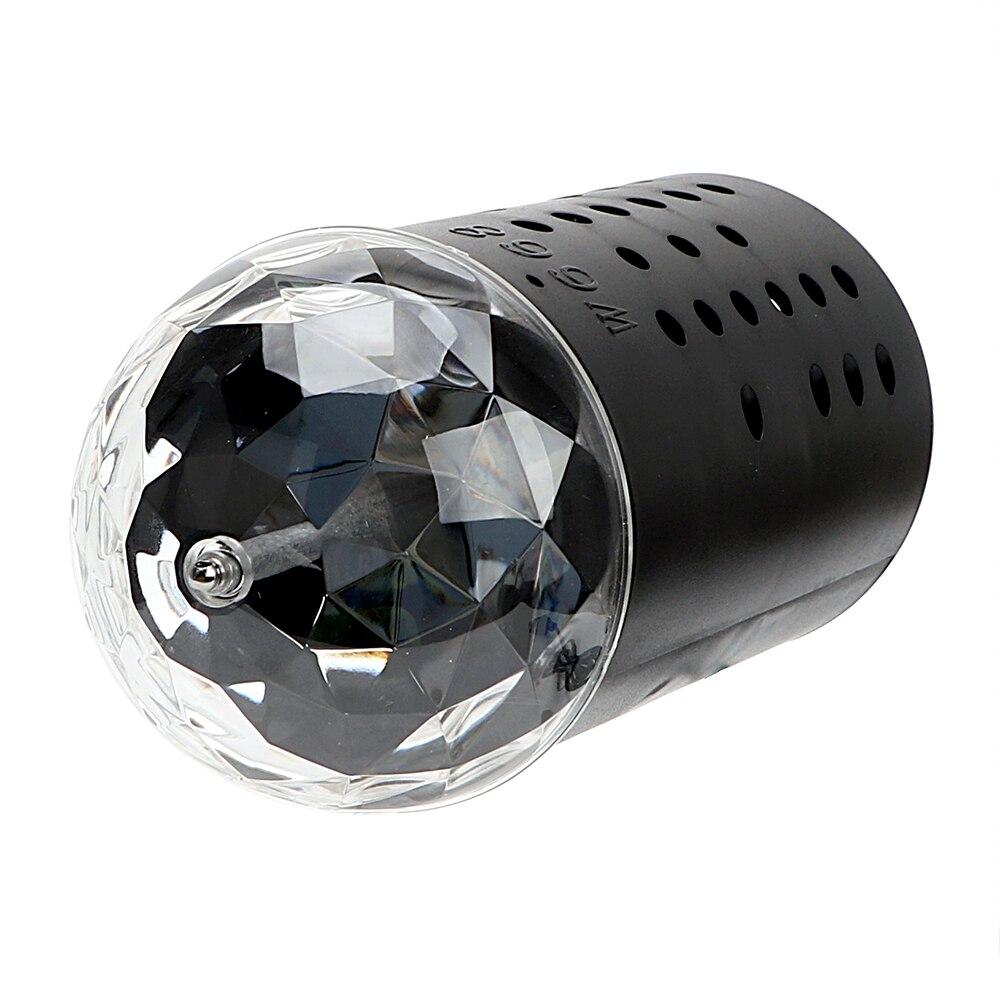 iTimo RGB Stage Light Auto Rotating EU/US Plug DJ Club Disco Ball Crystal Magic Ball Laser Stage Lighting Home Decor Party Lamp