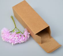 20 sizes Large small long krfat paper cardboard Cosmetic essential oil package box rectangle Perfume Bottle Packaging paper Box