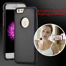 New anti gravity Design Case Magical Case Without Being Sticky nanomaterials silicone anti-knock protective sleeve adorption