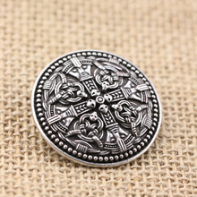 10pcs Norse Vikings Amulet Brooches Sweden National Costume Brooches Viking brosch with gripping beast jewelry Talisman