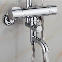 Buy Free Bathroom Mixing valve core waterfall bathtub thermostatic faucet Wall Mounted Waterfall Bath Shower Mixer ZR978 for $81.11 in AliExpress store