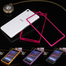 Buy Sony Z1 L39H Bumper Push Pull Metal Bumper Frame Case Cover Sony Xperia Z1 L39H C6903 C6906 Ultra Thin Aluminum Cover for $8.99 in AliExpress store