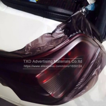 New arrival 30*100CM Matt black tail light Film Tint Taillight Motorbike Headlight Rear Lamp smoked Tinting Film Matt smoke film(China)