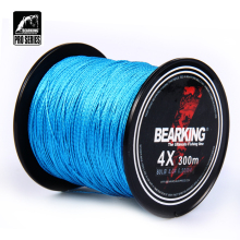 Great Discount!! hot Bearking 300m 10LB - 80LB Braided Fishing Line PE Strong Multifilament Fishing Line Carp Fishing Saltwater(China)