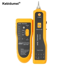Kebidumei LAN Network Cable Tester Cat5 Cat6 RJ45 UTP STP Line Finder Telephone Wire Tracker Tracer Diagnose Tone Tool Kit(China)