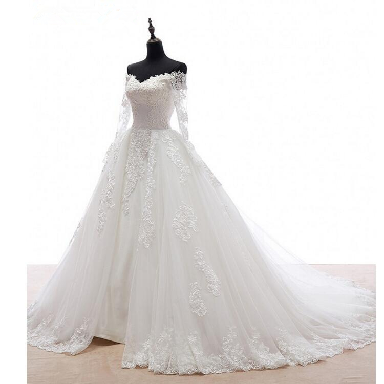 Real-Image-Detachable-Skirt-Wedding-Dress-2017-Vintage-Vestido-De-Noiva-Long-Sleeves-Handmade-Bridal-Gowns (1)